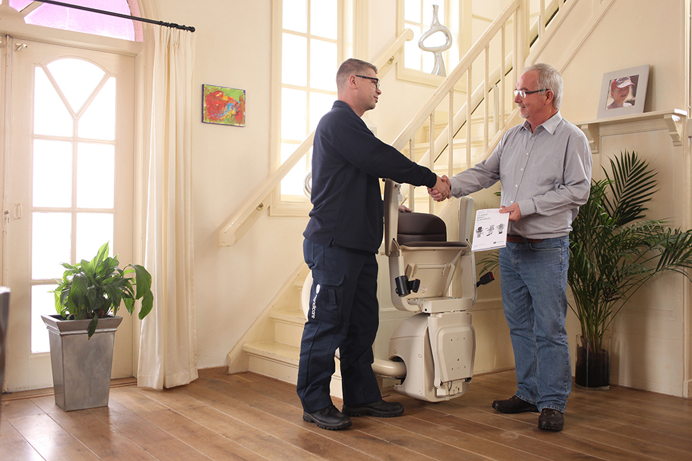 If You Can't Buy a Stairlift, Rent One Instead